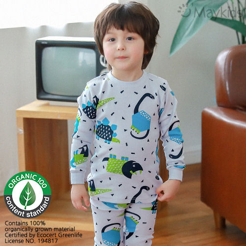 MAYKIDS - BRAND - Korean Children Fashion - #Kfashion4kids - Dino Figure Playwear