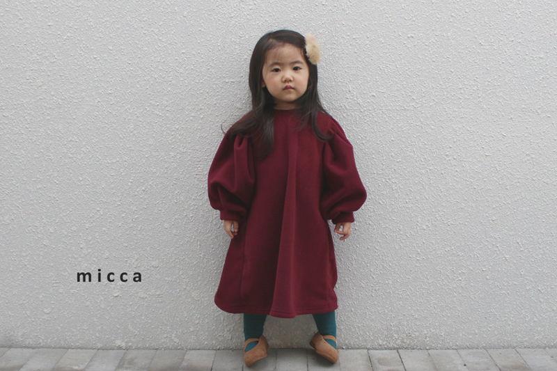 MICCA - BRAND - Korean Children Fashion - #Kfashion4kids - One Day One-piece