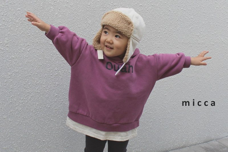 MICCA - BRAND - Korean Children Fashion - #Kfashion4kids - Choco Long Hood MTM