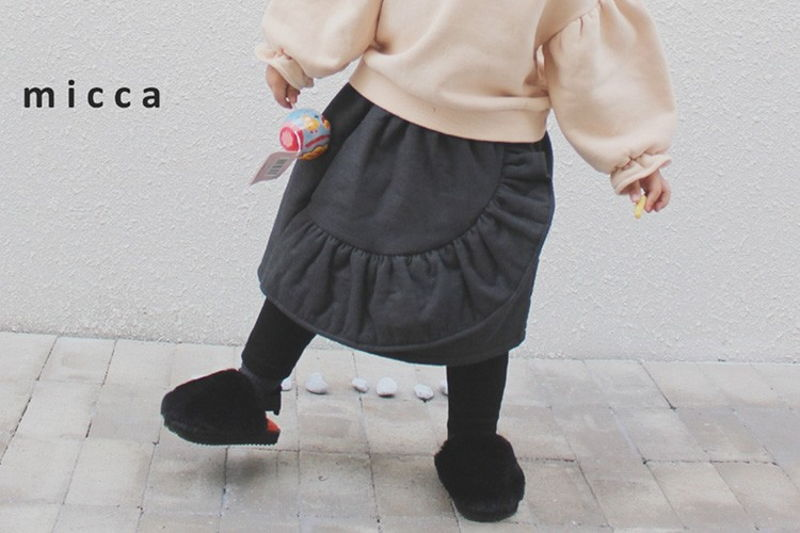 MICCA - BRAND - Korean Children Fashion - #Kfashion4kids - Ellan Skirt Leggings