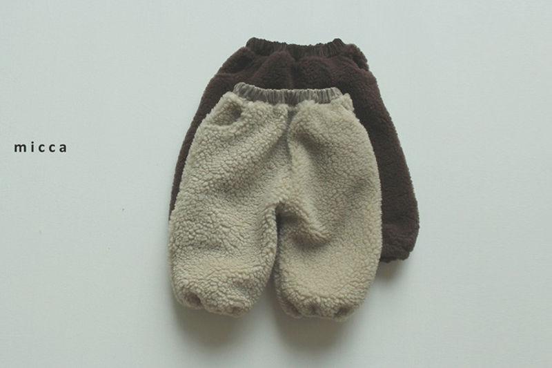 MICCA - BRAND - Korean Children Fashion - #Kfashion4kids - Dumble Sausage Pants