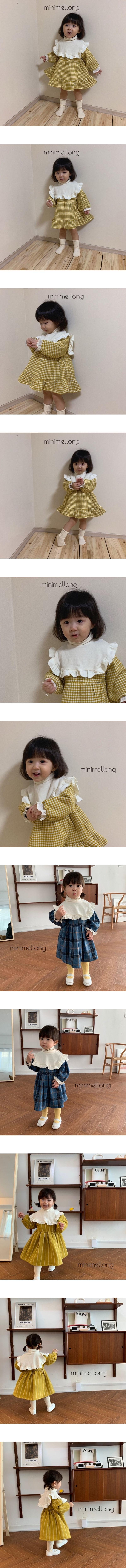 MINIMELLONG - Korean Children Fashion - #Kfashion4kids - Frill Turtleneck Pola