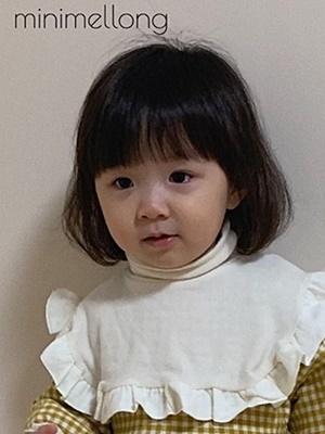 MINIMELLONG - BRAND - Korean Children Fashion - #Kfashion4kids - Frill Turtleneck Pola