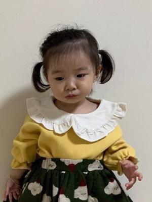 MINIMELLONG - BRAND - Korean Children Fashion - #Kfashion4kids - Fleece Angel Tee