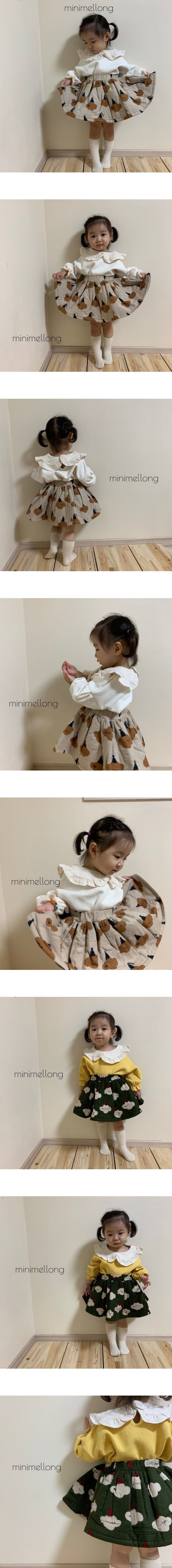 MINIMELLONG - Korean Children Fashion - #Kfashion4kids - Bonding Skirt