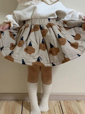 MINIMELLONG - BRAND - Korean Children Fashion - #Kfashion4kids - Bonding Skirt
