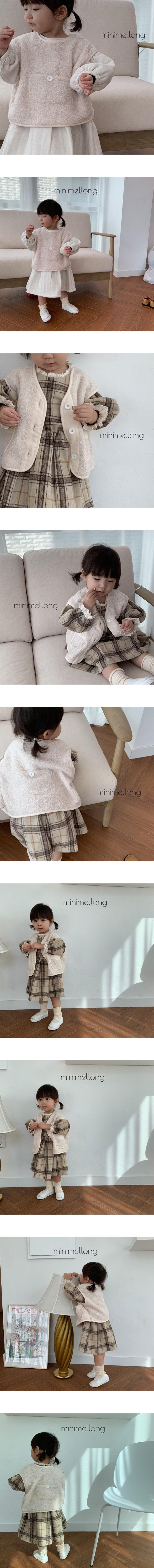MINIMELLONG - Korean Children Fashion - #Kfashion4kids - Dumble Vest