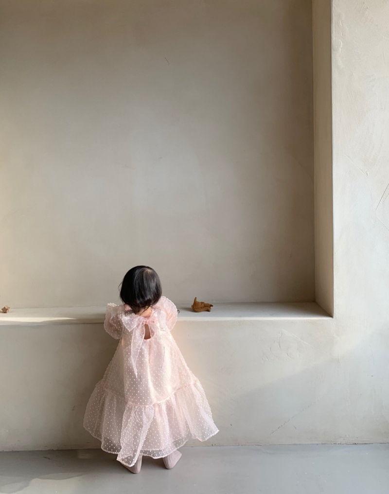 MONBEBE - Korean Children Fashion - #Kfashion4kids - Tul Dress - 12