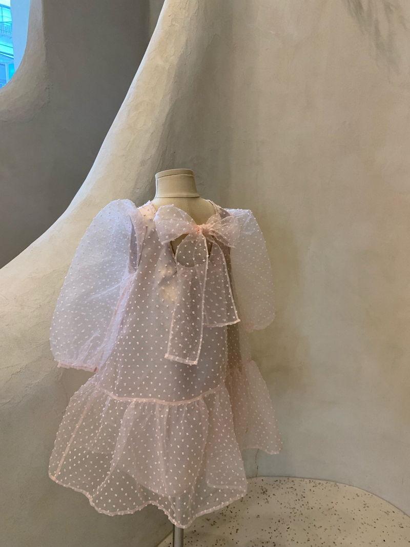 MONBEBE - Korean Children Fashion - #Kfashion4kids - Tul Dress - 5