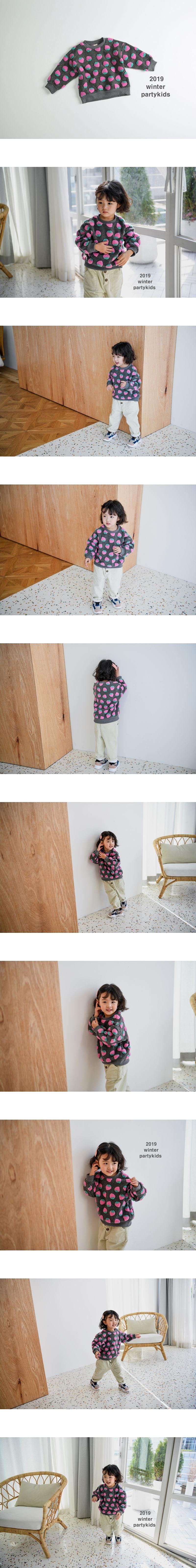 PARTY KIDS - Korean Children Fashion - #Kfashion4kids - Strawberry MTM