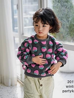 PARTY KIDS - BRAND - Korean Children Fashion - #Kfashion4kids - Strawberry MTM