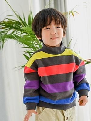 PARTY KIDS - BRAND - Korean Children Fashion - #Kfashion4kids - Multi Half Turtleneck MTM