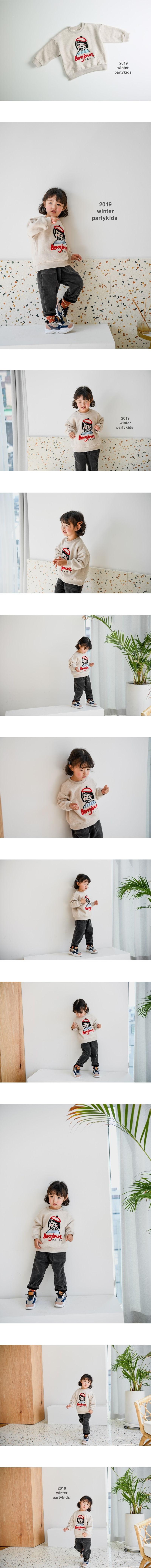 PARTY KIDS - Korean Children Fashion - #Kfashion4kids - Bon Jour MTM