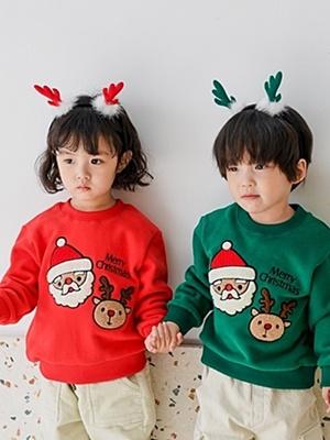 PARTY KIDS - BRAND - Korean Children Fashion - #Kfashion4kids - Santa Rudolph MTM
