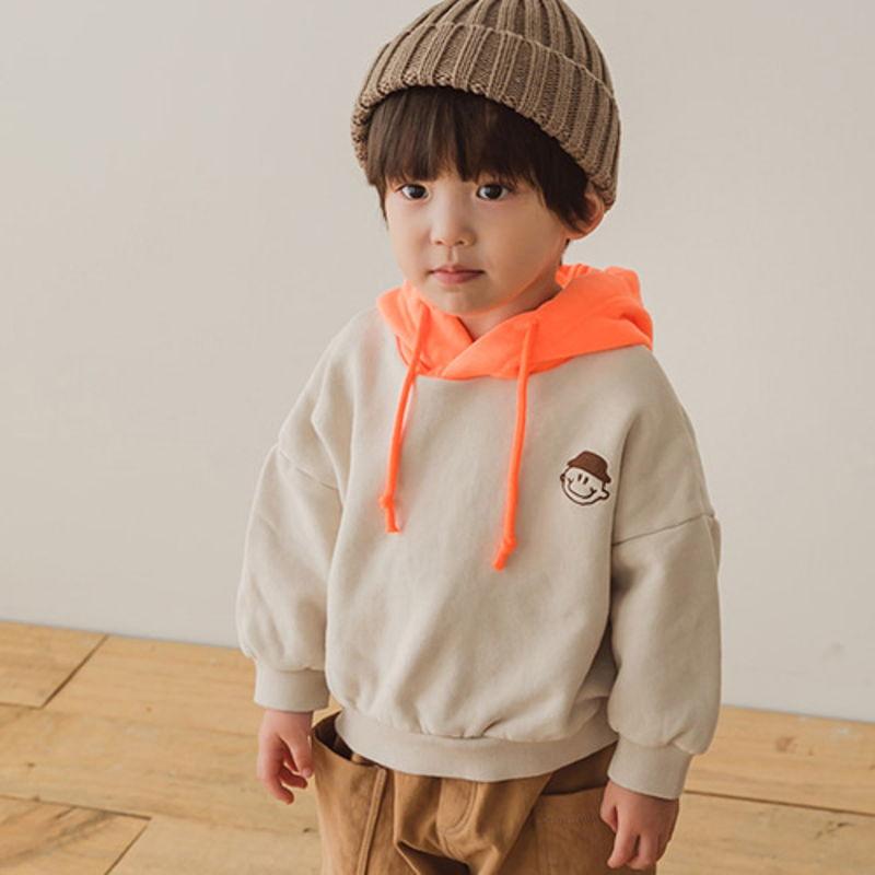 PEANUTS - BRAND - Korean Children Fashion - #Kfashion4kids - Embroidery Hood MTM