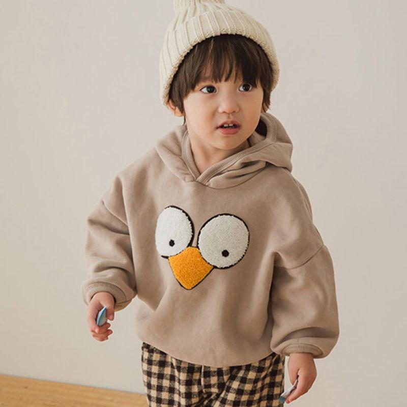 PEANUTS - BRAND - Korean Children Fashion - #Kfashion4kids - Duck Hood MTM