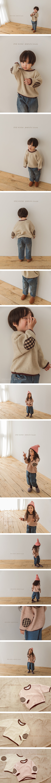 PEANUTS - Korean Children Fashion - #Kfashion4kids - Knit Patch MTM