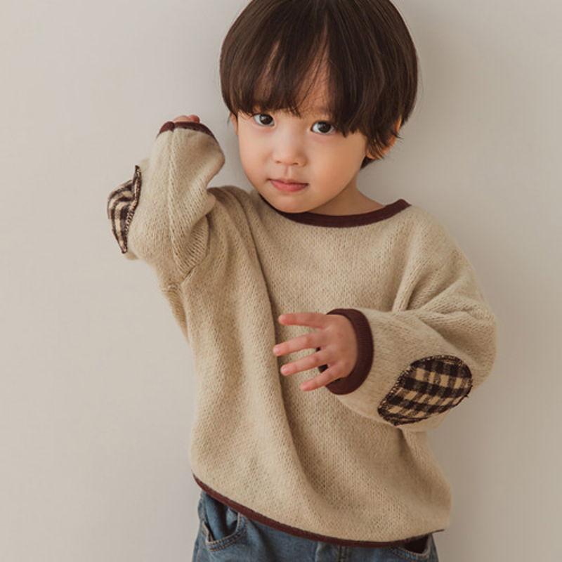 PEANUTS - BRAND - Korean Children Fashion - #Kfashion4kids - Knit Patch MTM
