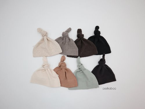PEEKABOO - BRAND - Korean Children Fashion - #Kfashion4kids - Banban Knot Hat