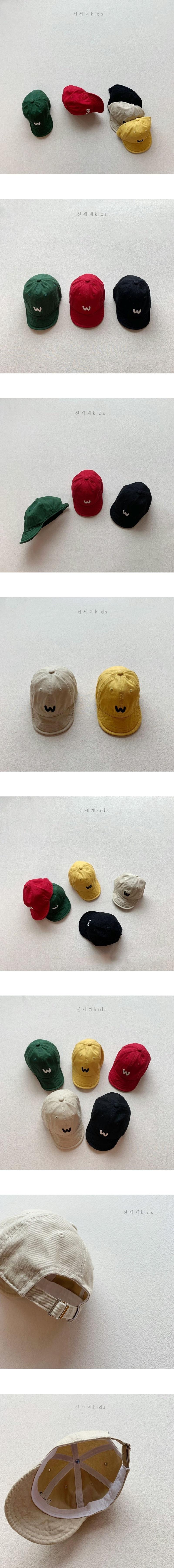 SHINSEAGE KIDS - Korean Children Fashion - #Kfashion4kids - W Cap