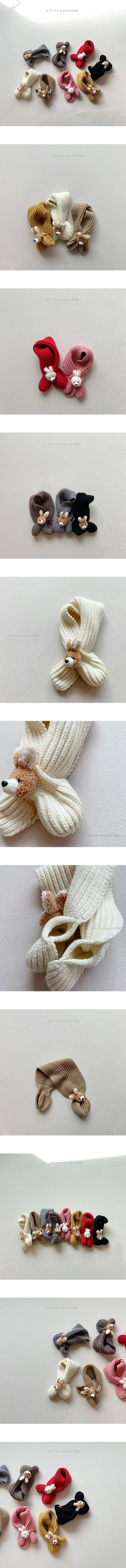 SHINSEAGE KIDS - Korean Children Fashion - #Kfashion4kids - Rabbit Neck Warmer
