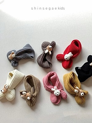 SHINSEAGE KIDS - BRAND - Korean Children Fashion - #Kfashion4kids - Rabbit Neck Warmer