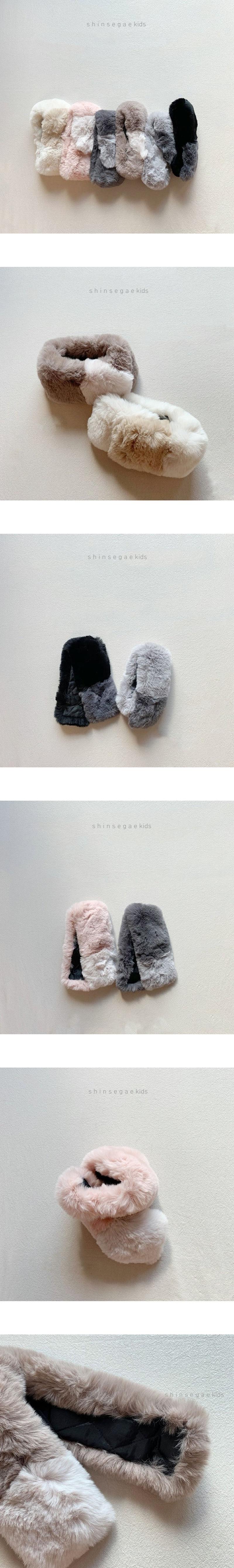 SHINSEAGE KIDS - Korean Children Fashion - #Kfashion4kids - Two Toned Magnetic Warmer
