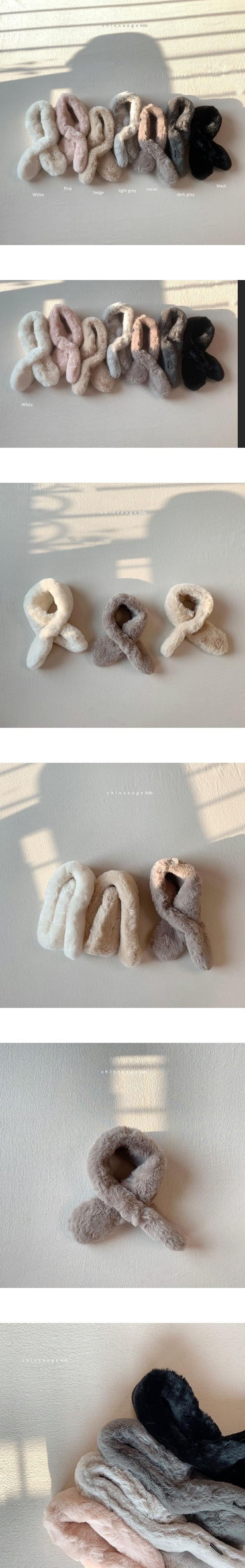 SHINSEAGE KIDS - Korean Children Fashion - #Kfashion4kids - Solid Hock Warmer