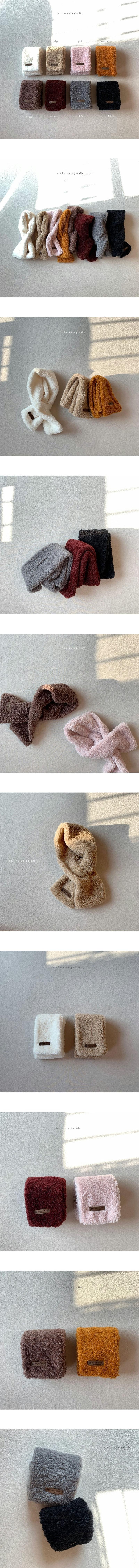 SHINSEAGE KIDS - Korean Children Fashion - #Kfashion4kids - Dumble Neck Warmer