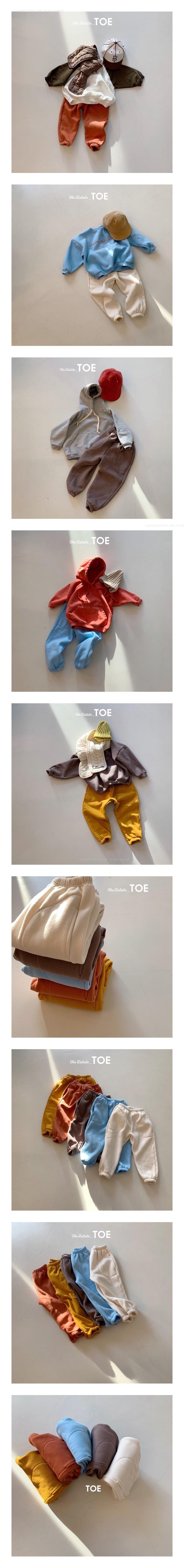 TOE - Korean Children Fashion - #Kfashion4kids - Fleece Pants