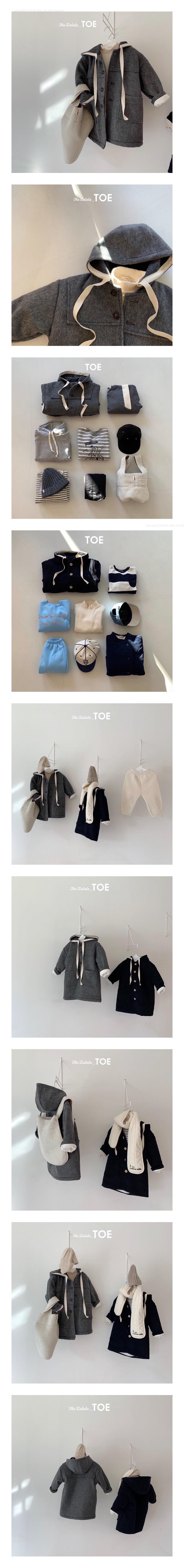 TOE - Korean Children Fashion - #Kfashion4kids - Ane Sailor Coat