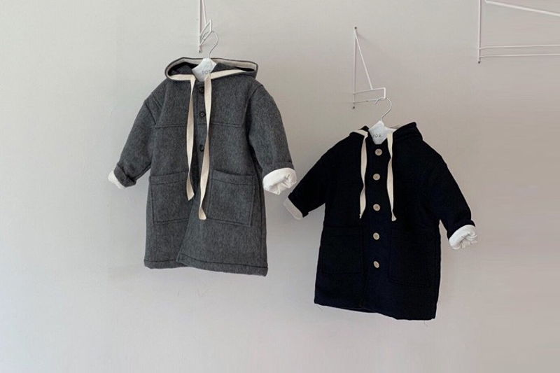 TOE - BRAND - Korean Children Fashion - #Kfashion4kids - Ane Sailor Coat
