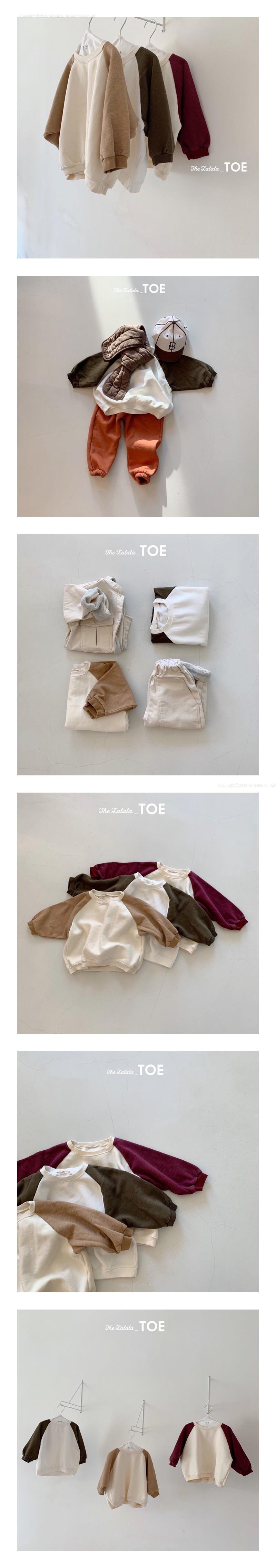 TOE - Korean Children Fashion - #Kfashion4kids - Pot Raglan MTM
