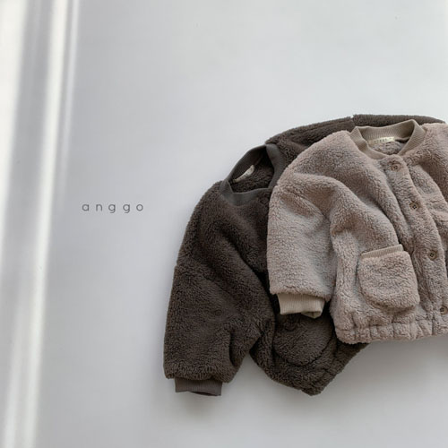 ANGGO - Korean Children Fashion - #Kfashion4kids - Bongbong Fleece Jacket - 2