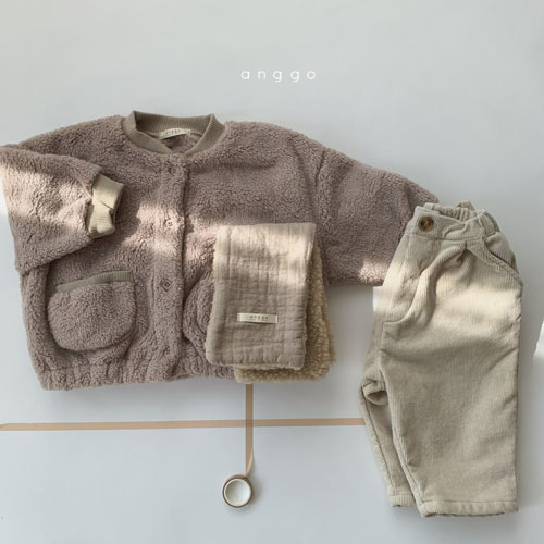ANGGO - Korean Children Fashion - #Kfashion4kids - Bongbong Fleece Jacket - 6