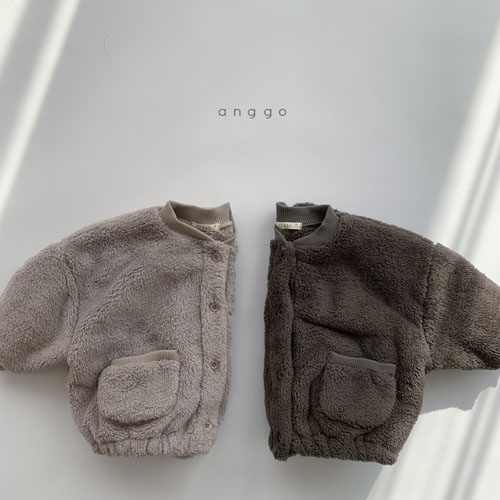 ANGGO - Korean Children Fashion - #Kfashion4kids - Bongbong Fleece Jacket - 8