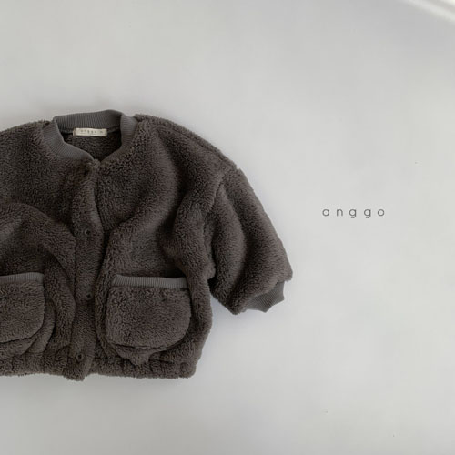 ANGGO - Korean Children Fashion - #Kfashion4kids - Bongbong Fleece Jacket - 9
