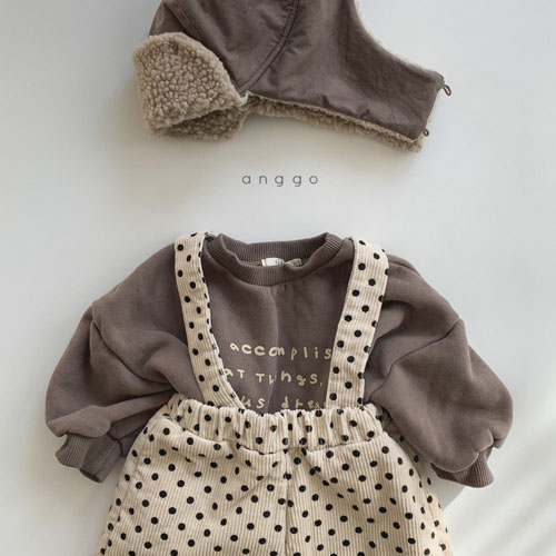 ANGGO - Korean Children Fashion - #Kfashion4kids - Lettering MTM - 5