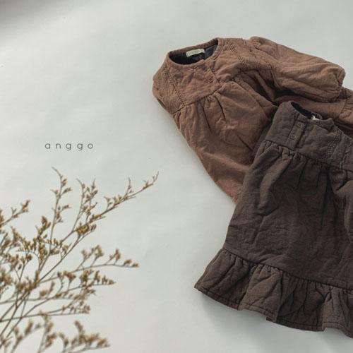 ANGGO - Korean Children Fashion - #Kfashion4kids - Momo Lace One-piece