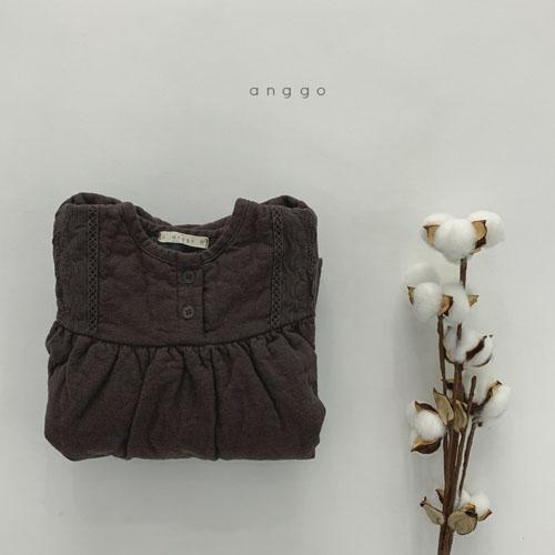 ANGGO - Korean Children Fashion - #Kfashion4kids - Momo Lace One-piece - 12