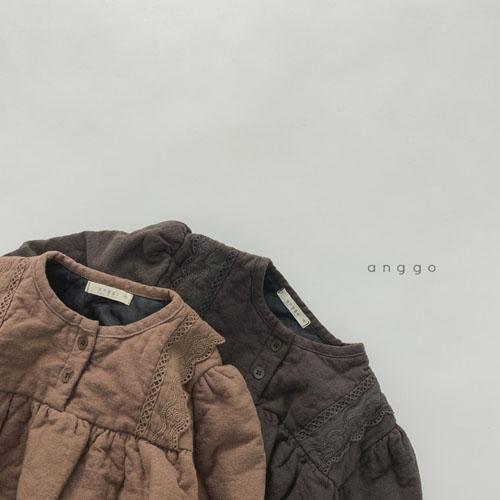 ANGGO - Korean Children Fashion - #Kfashion4kids - Momo Lace One-piece - 2