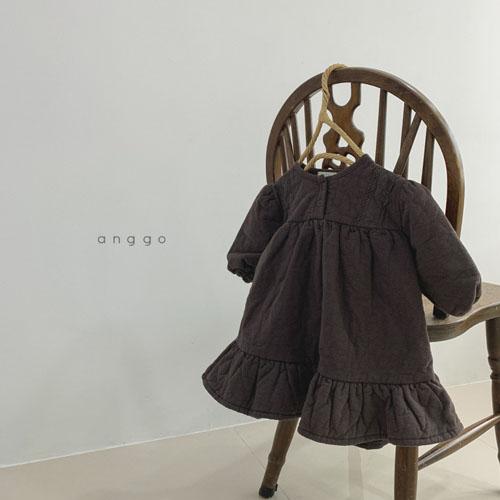 ANGGO - Korean Children Fashion - #Kfashion4kids - Momo Lace One-piece - 3