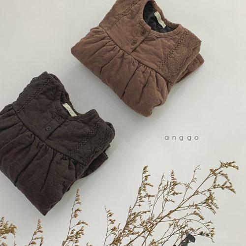 ANGGO - Korean Children Fashion - #Kfashion4kids - Momo Lace One-piece - 5