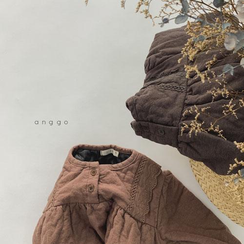 ANGGO - Korean Children Fashion - #Kfashion4kids - Momo Lace One-piece - 6