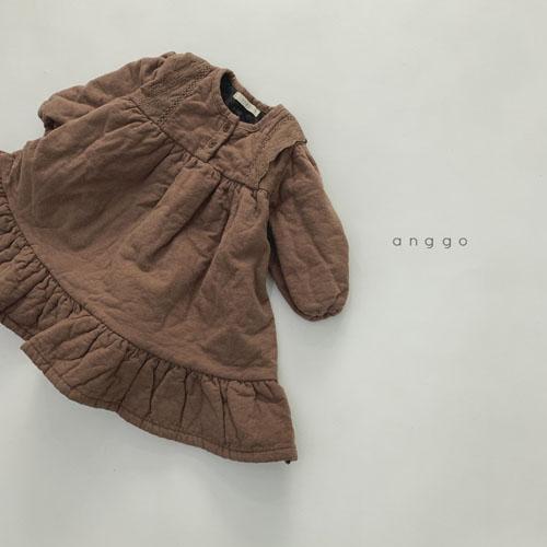 ANGGO - Korean Children Fashion - #Kfashion4kids - Momo Lace One-piece - 7