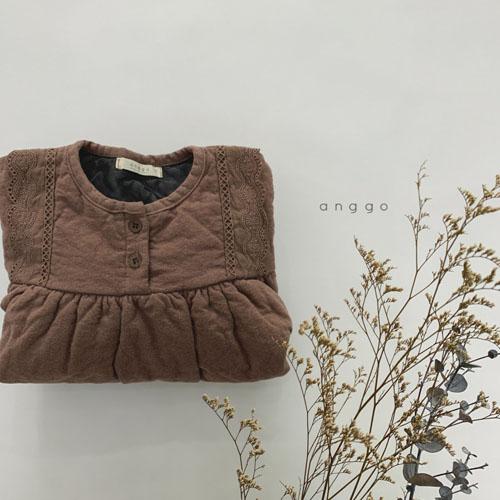 ANGGO - Korean Children Fashion - #Kfashion4kids - Momo Lace One-piece - 8