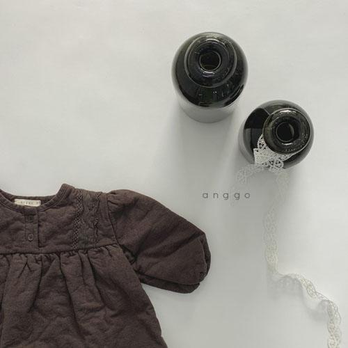 ANGGO - Korean Children Fashion - #Kfashion4kids - Momo Lace One-piece - 9