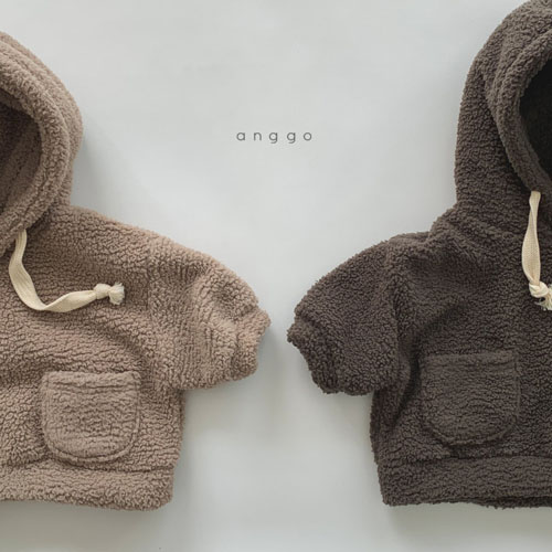 ANGGO - Korean Children Fashion - #Kfashion4kids - Kuma Top Bottom Set - 7