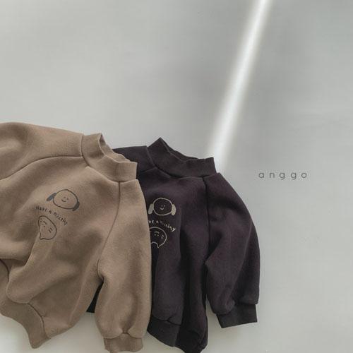 ANGGO - Korean Children Fashion - #Kfashion4kids - Puppy Cat MTM - 3