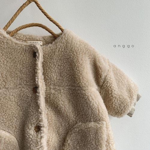 ANGGO - Korean Children Fashion - #Kfashion4kids - Merci Long Jacket - 4